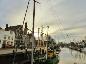 Little harbour Veere